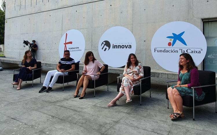 escenario acto programa Inova